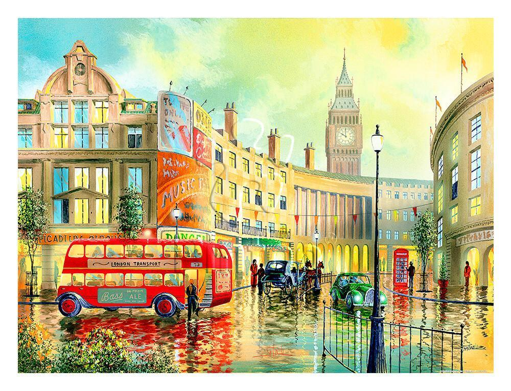 Puzzle Pintoo Mañana en Londres de 1200 Piezas