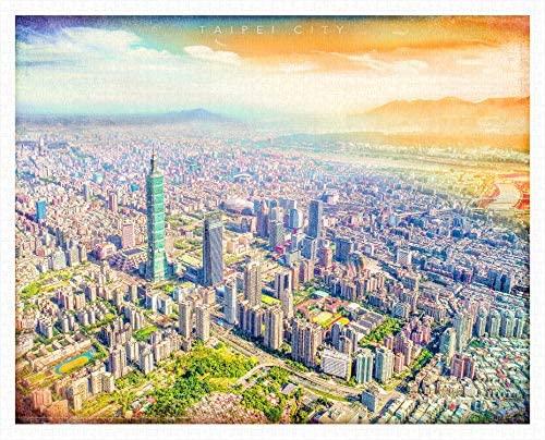 Puzzle Pintoo Maravillosa Vista de Taipei de 2000 Piezas