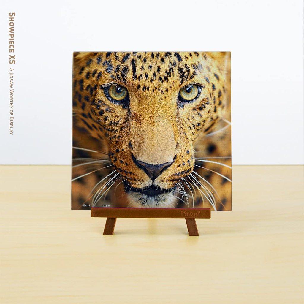 Puzzle Pintoo Primer Plano Leopardo MINIATURE de 256 Piezas