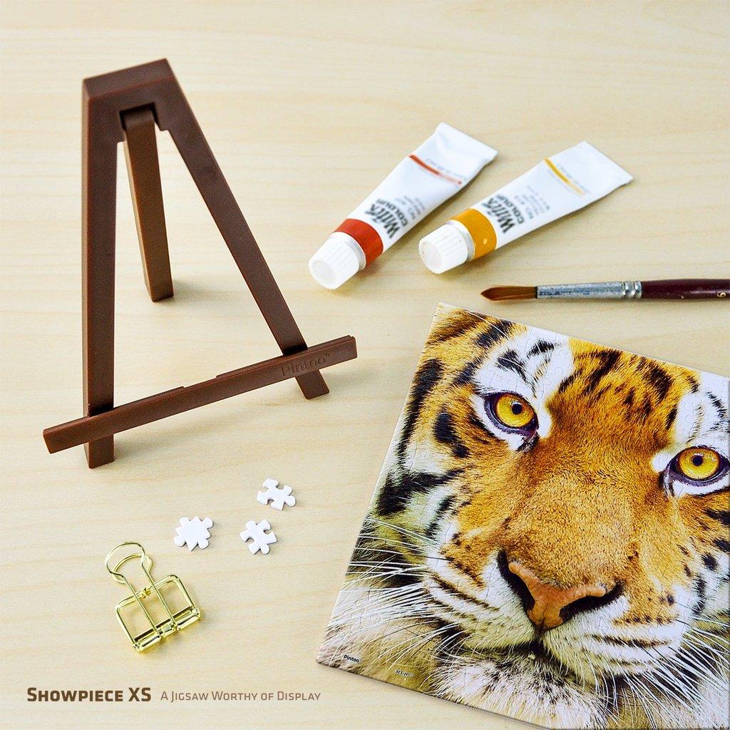 Puzzle Pintoo Primer Plano Tigre MINIATURE de 256 Piezas