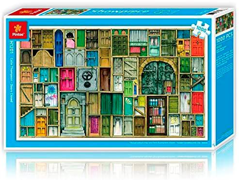 Puzzle Pintoo Puertas Cerradas de 1000 Piezas