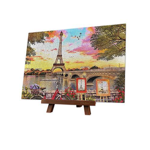 Puzzle Pintoo Puesta de Sol en París MINIATURE de 368 Piezas