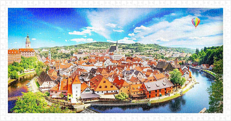Puzzle Pintoo República Checa de 800 Piezas