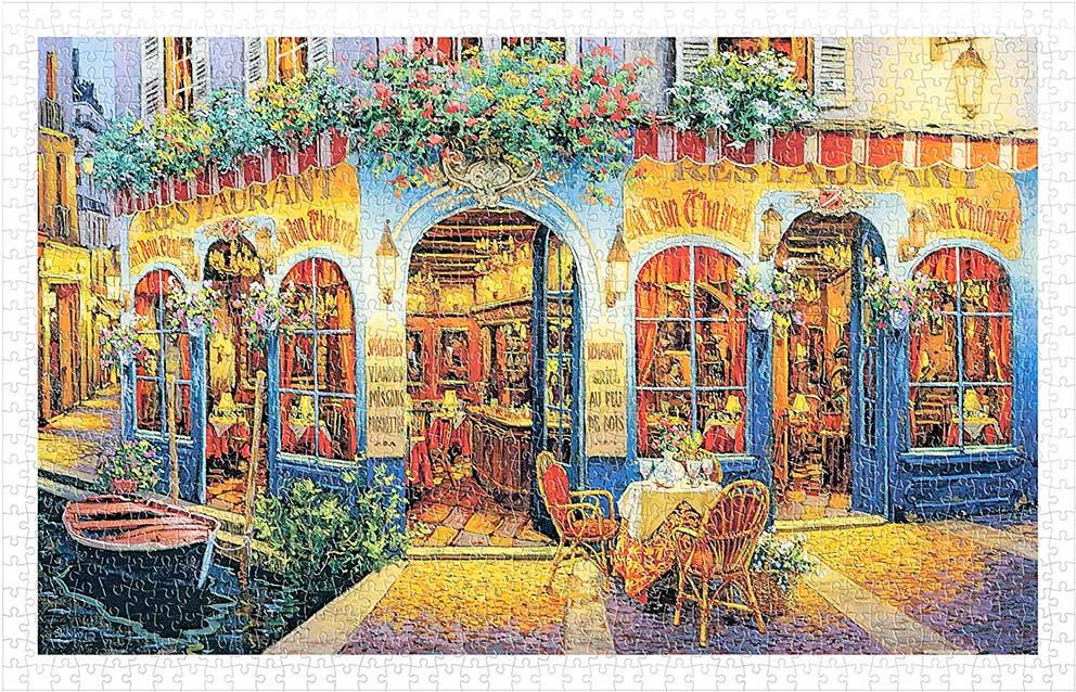 Puzzle Pintoo Restaurante Au Von Chabrot de 1000 Piezas