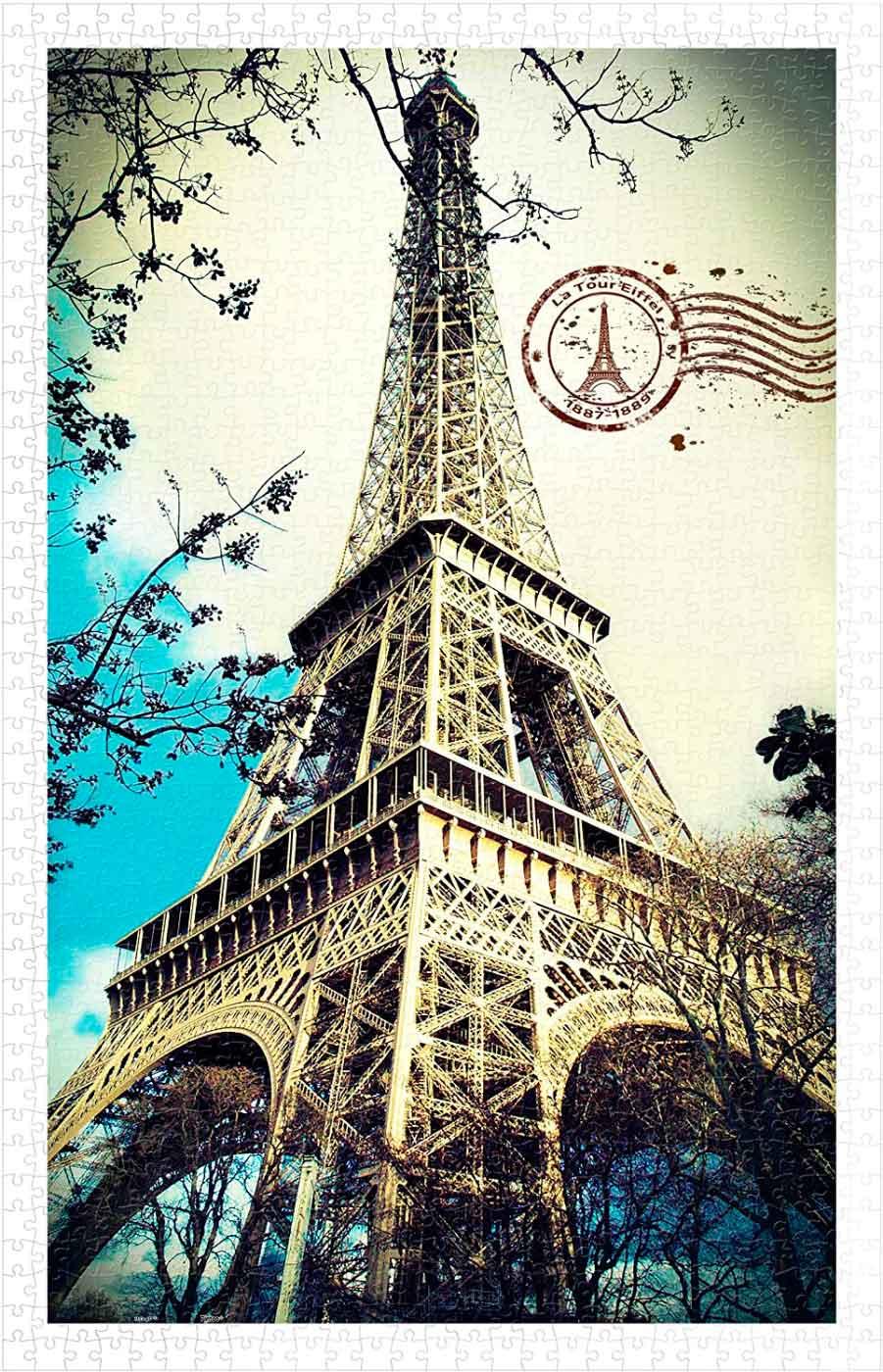 Puzzle Pintoo Torre Eiffel de 1000 Piezas