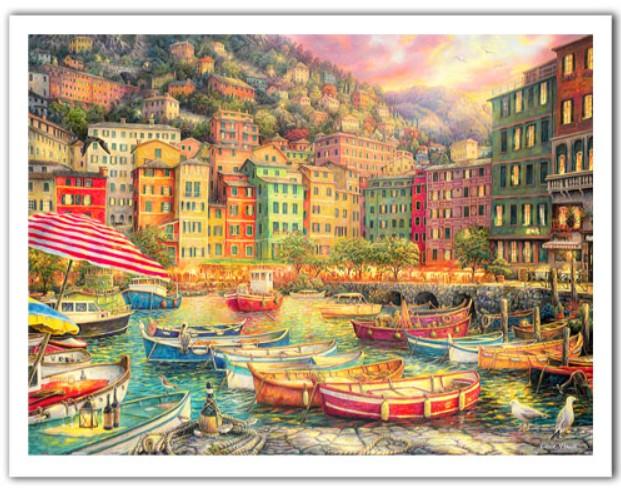 Puzzle Pintoo Vivacidad de Italia de 1200 Piezas