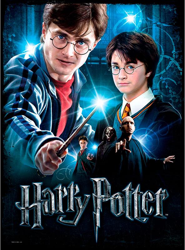 Puzzle Poster Wrebbit Harry Potter de 500 Piezas