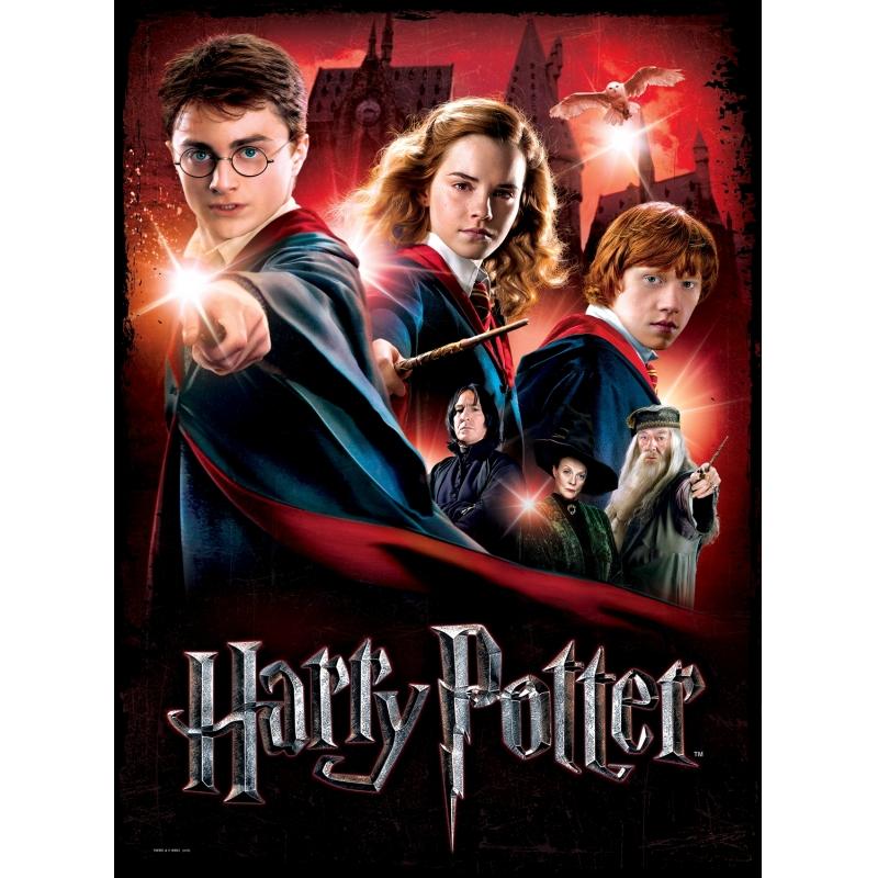 Puzzle Poster Wrebbit Harry Potter, Escuela Hogwarts de 500 Piez