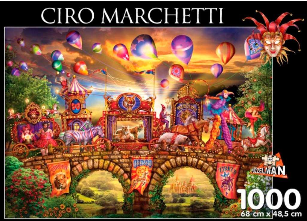 Puzzle Puzzelman Desfile de Carnaval de 1000 Piezas