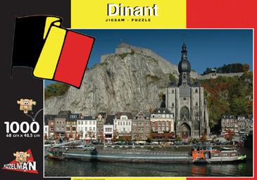 Puzzle Puzzelman Dinant, Bélgica de 1000 Piezas