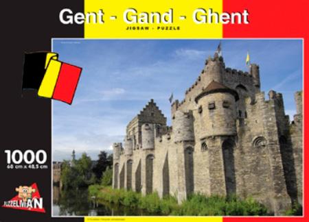 Puzzle Puzzelman Gante, Bélgica de 1000 Piezas
