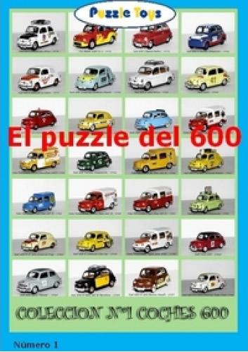 Puzzle Puzzle Toys Colección Seiscientos Numero 1 de 1000 Piezas