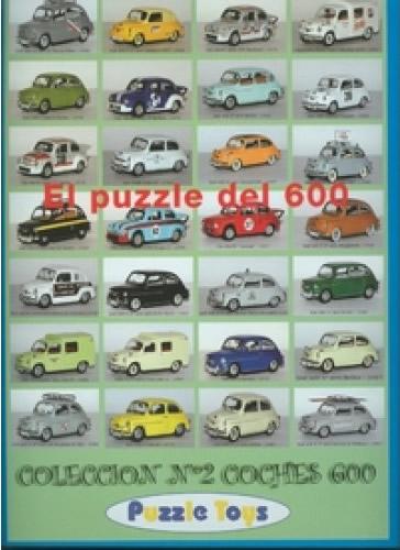 Puzzle Puzzle Toys Colección Seiscientos Numero 2 de 1000 Piezas