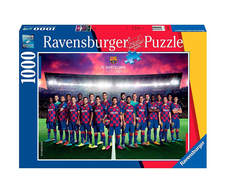 Puzzle Ravensburger FC Barcelona de 1000 Piezas