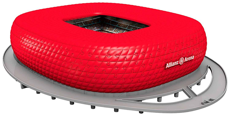 Puzzle Ravensburger 3D Allianz Arena (Bayern München) de 216 Pie