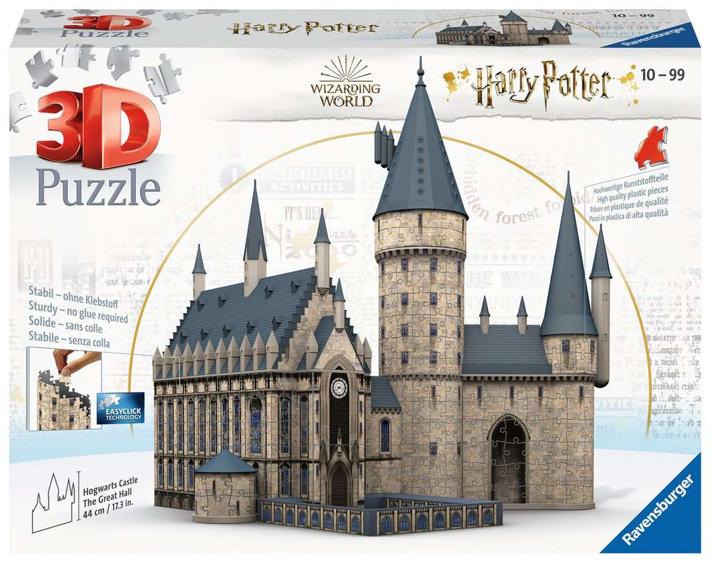 Puzzle Ravensburger 3D Harry Potter Castillo Hogwarts 630P