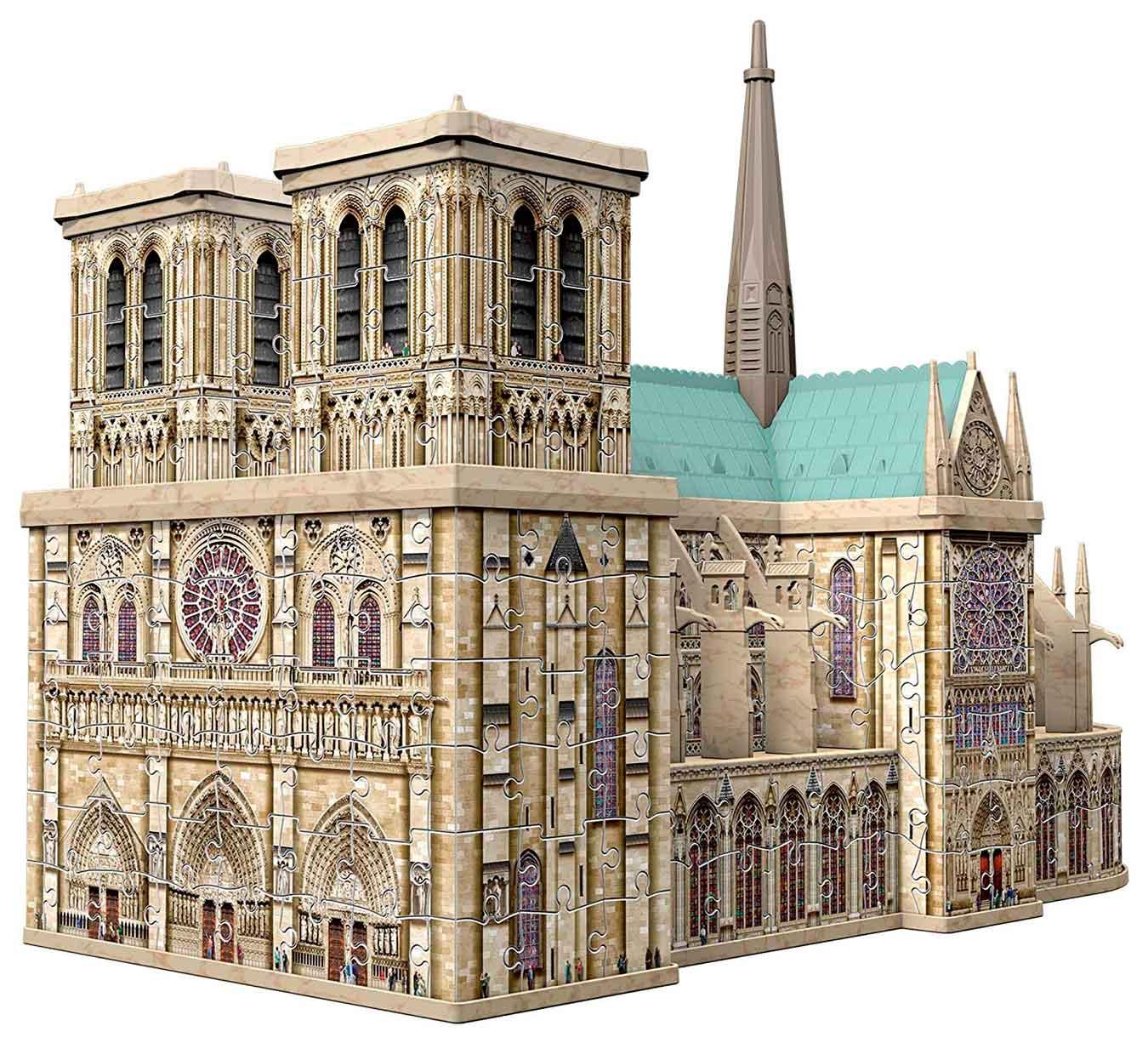 Puzzle Ravensburger 3D Notre Dame de 324 Piezas