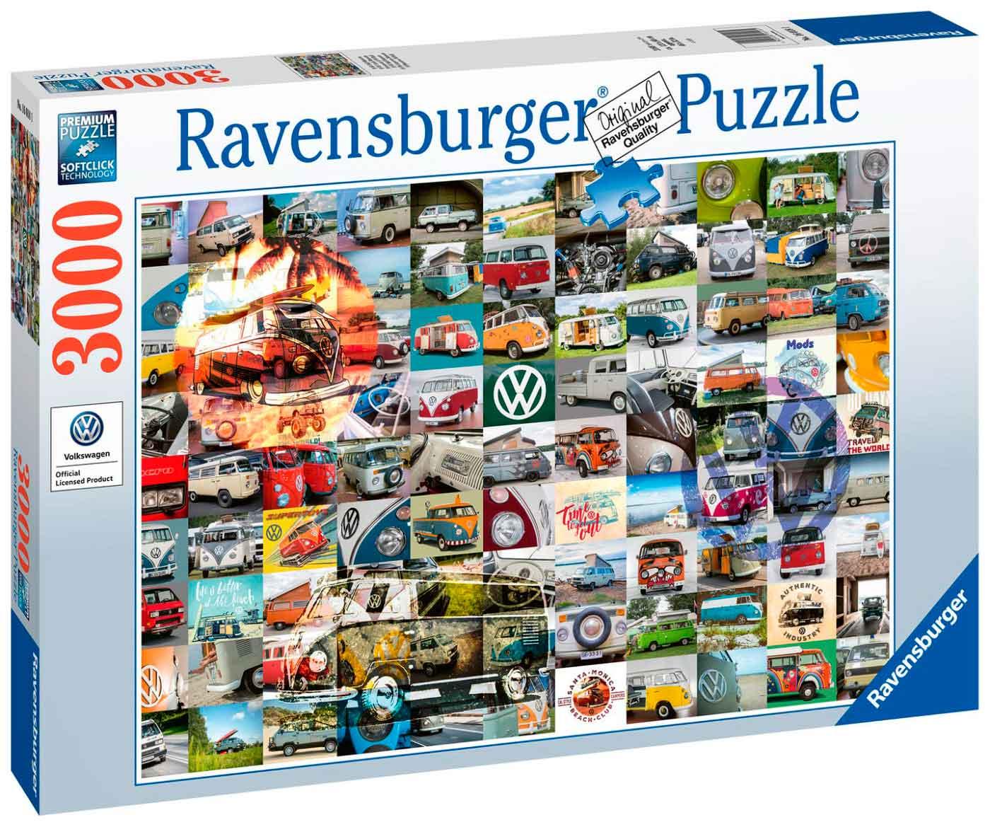 Puzzle Ravensburger 99 Momentos VW de 3000 Piezas