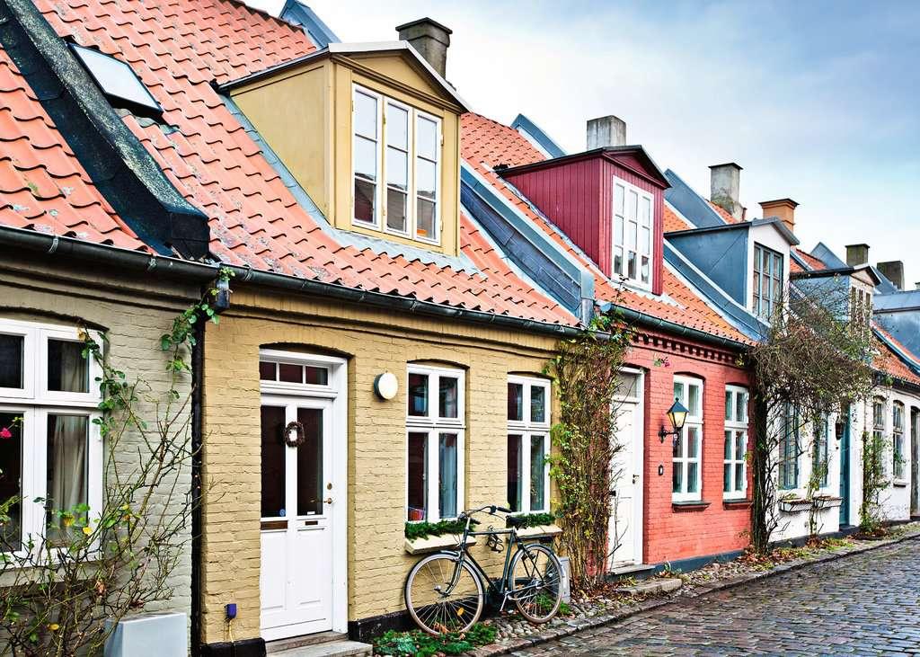 Puzzle Ravensburger Aarhus, Dinamarca de 1000 Piezas
