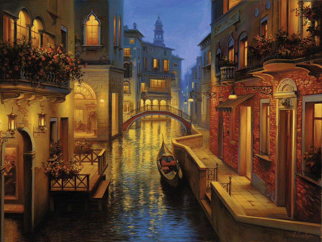Puzzle Ravensburger Aguas de Venecia de 1500 Piezas