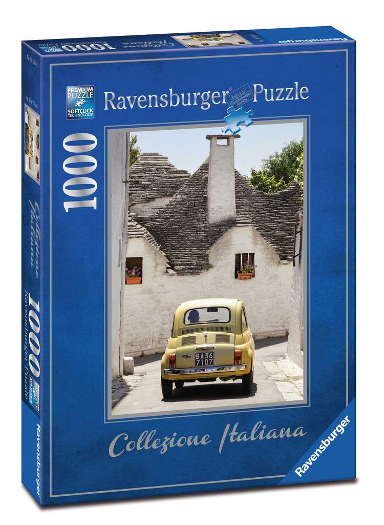 Puzzle Ravensburger Alberobello, Itaia de 1000 Piezas