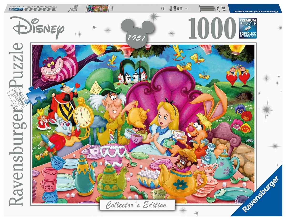 Puzzle Ravensburger Alicia en el País de las Maravillas de 1000