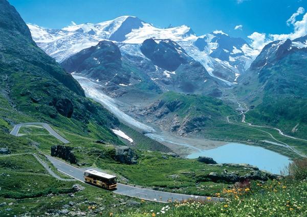 Puzzle Ravensburger Alpes Suizos de 1000 Piezas