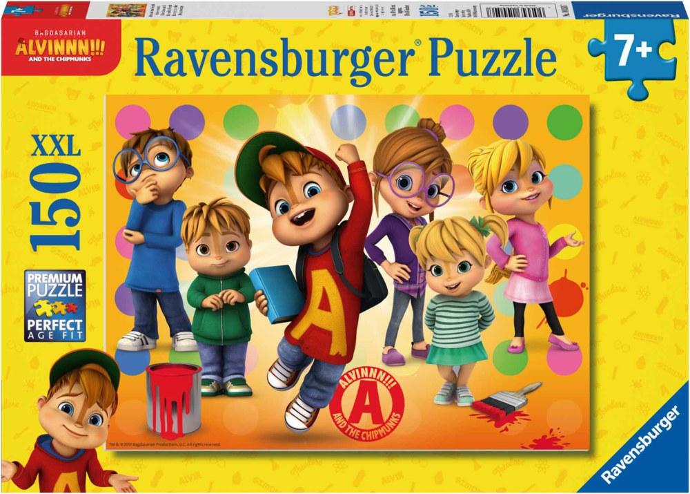 Puzzle Ravensburger Alvin y Las Ardillas XXL de 150 Piezas