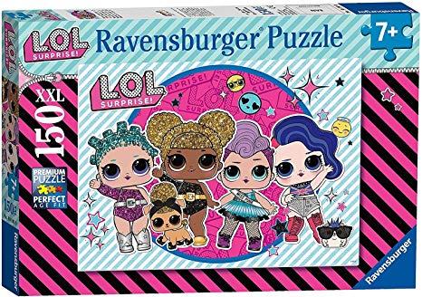 Puzzle Ravensburger LOL Listas Para La Fiesta XXL de 150 Pzs