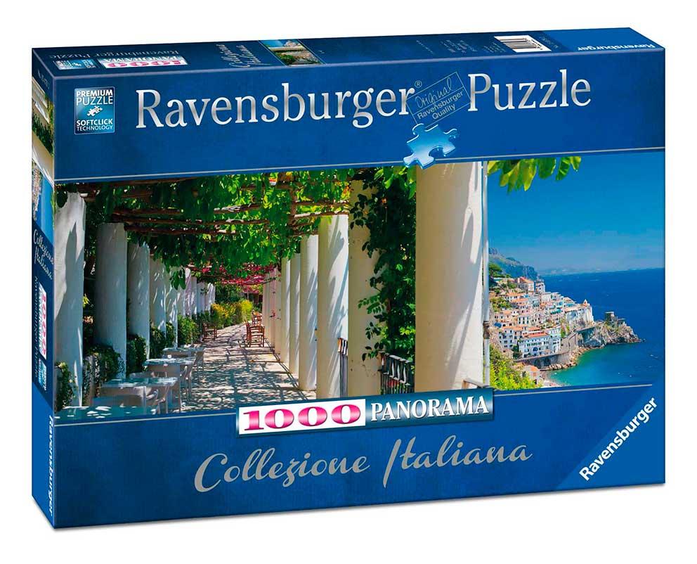 Puzzle Ravensburger Amalfi, Italia de 1000 Piezas