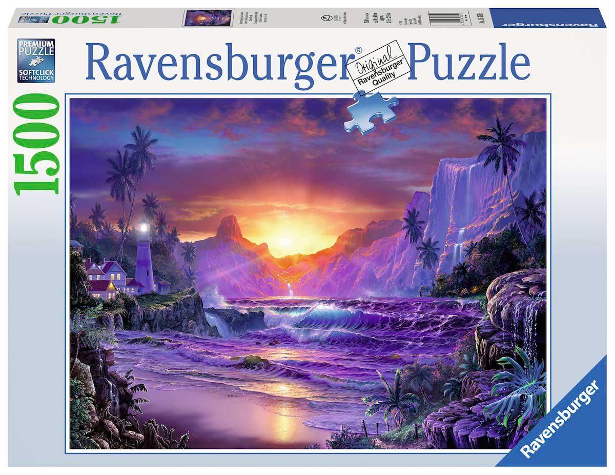 Puzzle Ravensburger Amanecer en la Isla de 1500 Piezas