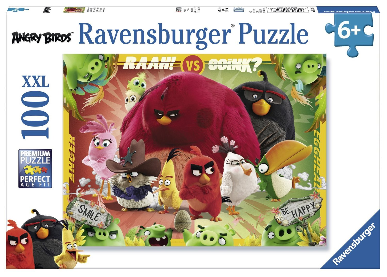 Puzzle Ravensburger Angry Birds XXL de 100 Piezas