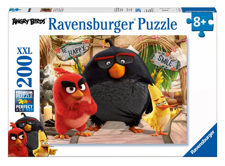 Puzzle Ravensburger Angry Birds XXL de 200 Piezas