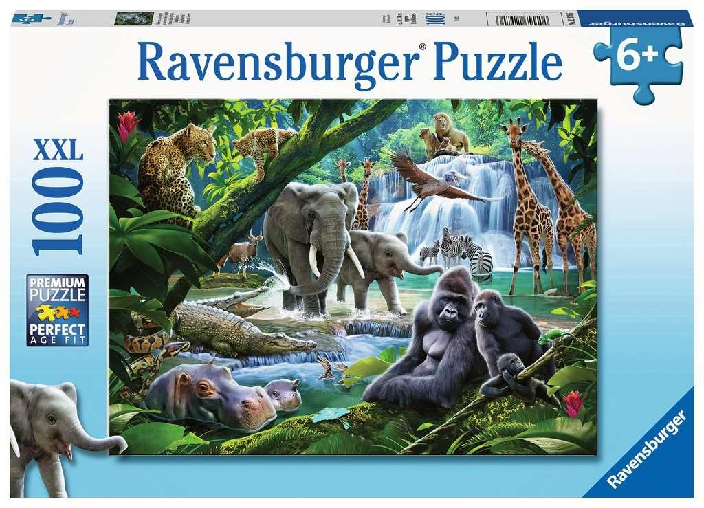 Puzzle Ravensburger Animales de la Selva XXL de 100 Piezas