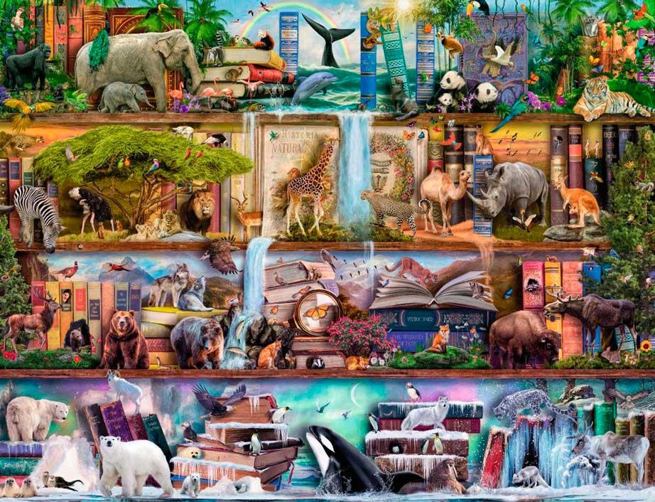 Puzzle Ravensburger Animales Salvajes de 2000 Piezas