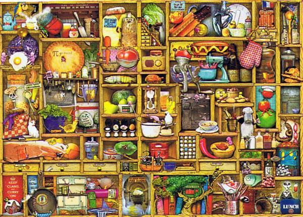 Puzzle Ravensburger Aparador de 1000 Piezas