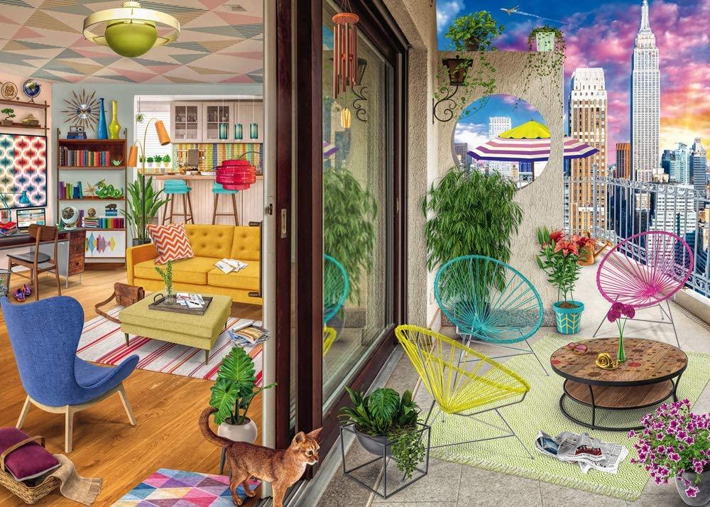 Puzzle Ravensburger Apartamento de Nueva York de 1000 Piezas