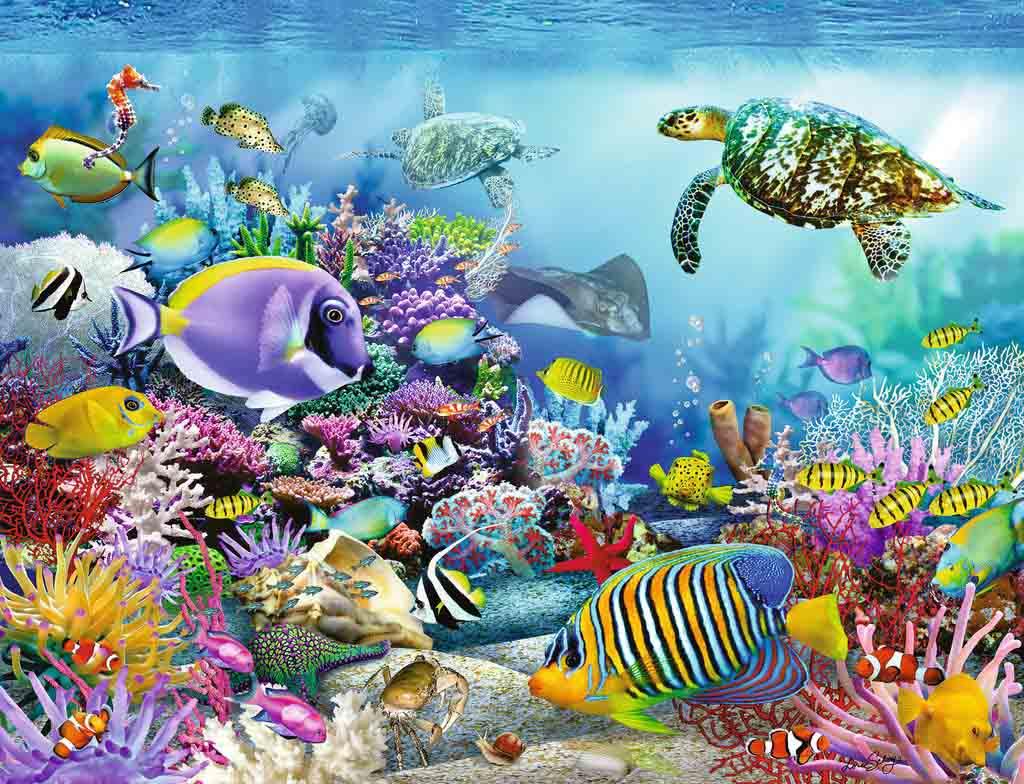 Puzzle Ravensburger Arrecife de Coral de 2000 Piezas