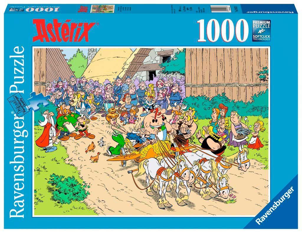 Puzzle Ravensburger Astérix en Italia de 1000 Piezas