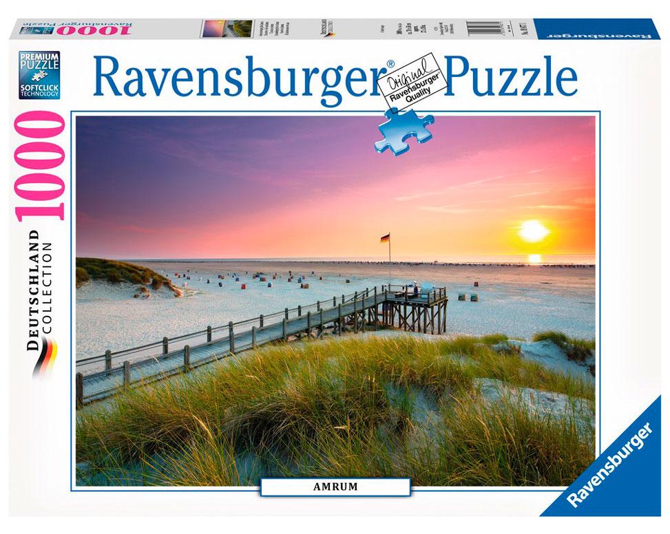 Puzzle Ravensburger Atardecer sobre Aurum 1000 Piezas