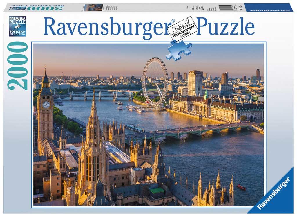 Puzzle Ravensburger Atmósfera de Londres de 2000 Piezas