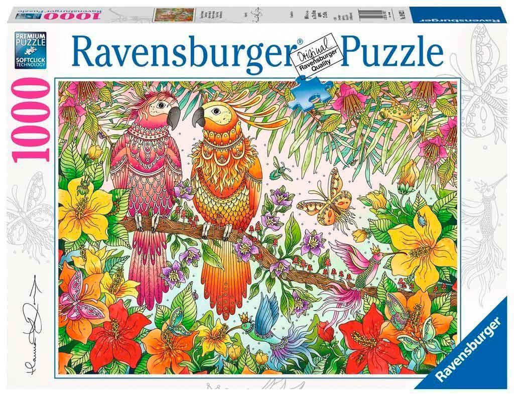 Puzzle Ravensburger Atmósfera Tropical de 1000 Piezas