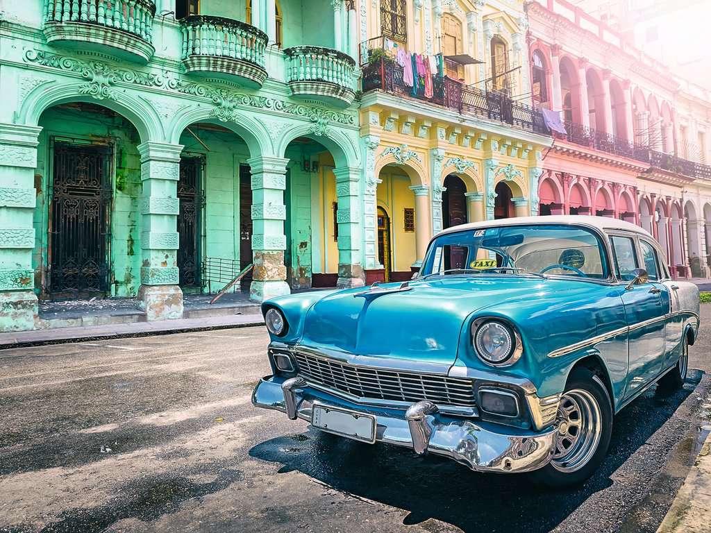 Puzzle Ravensburger Auto Cubano de 1500 Piezas