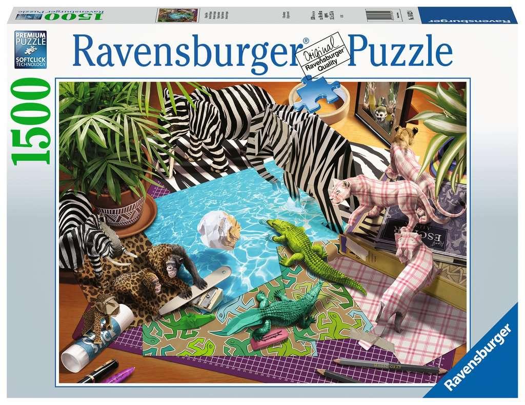 Puzzle Ravensburger Aventura de Origami de 1500 Piezas