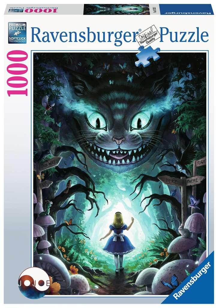 Puzzle Ravensburger Aventuras con Alicia de 1000 Piezas