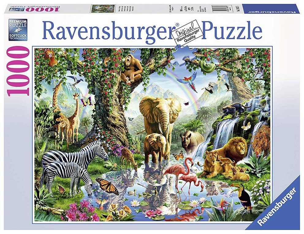 Puzzle Ravensburger Aventuras en la Selva de 1000 Piezas