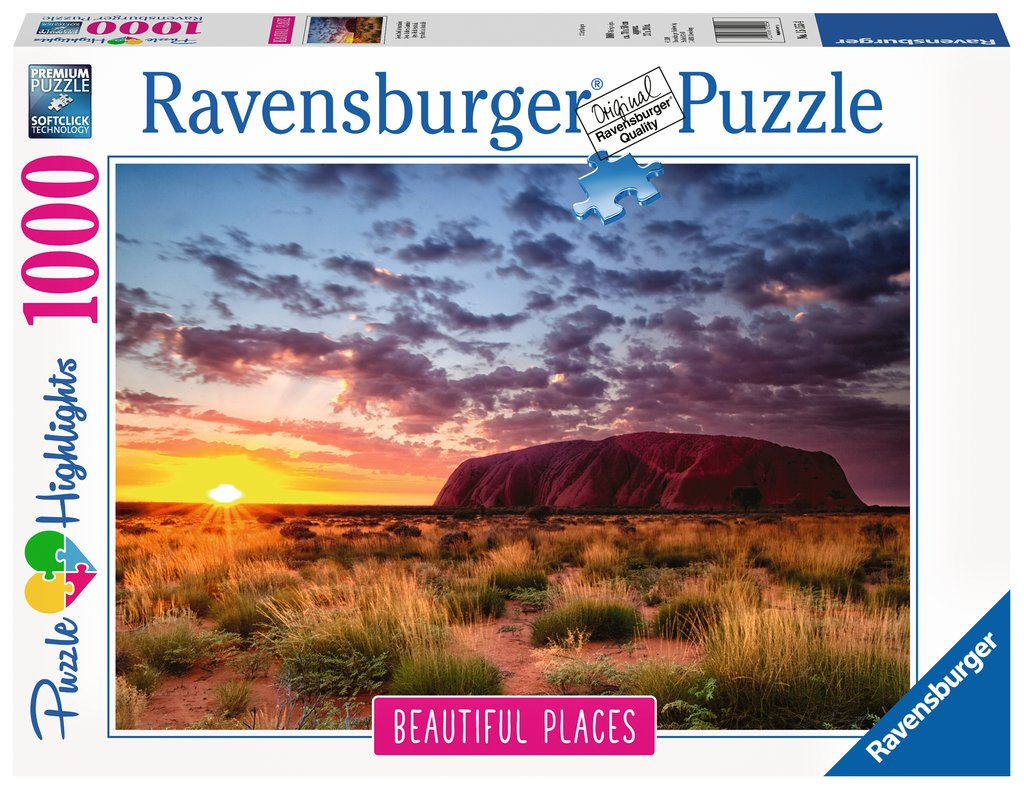 Puzzle Ravensburger Ayers Rock, Australia de 1000 Piezas