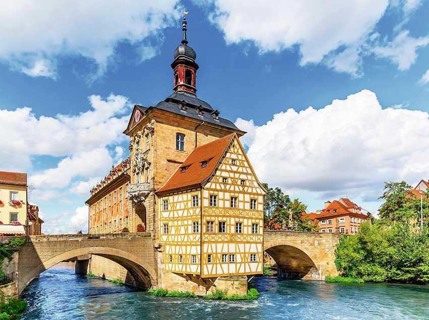 Puzzle Ravensburger Ayuntamiento de Bamberg de 500 Piezas