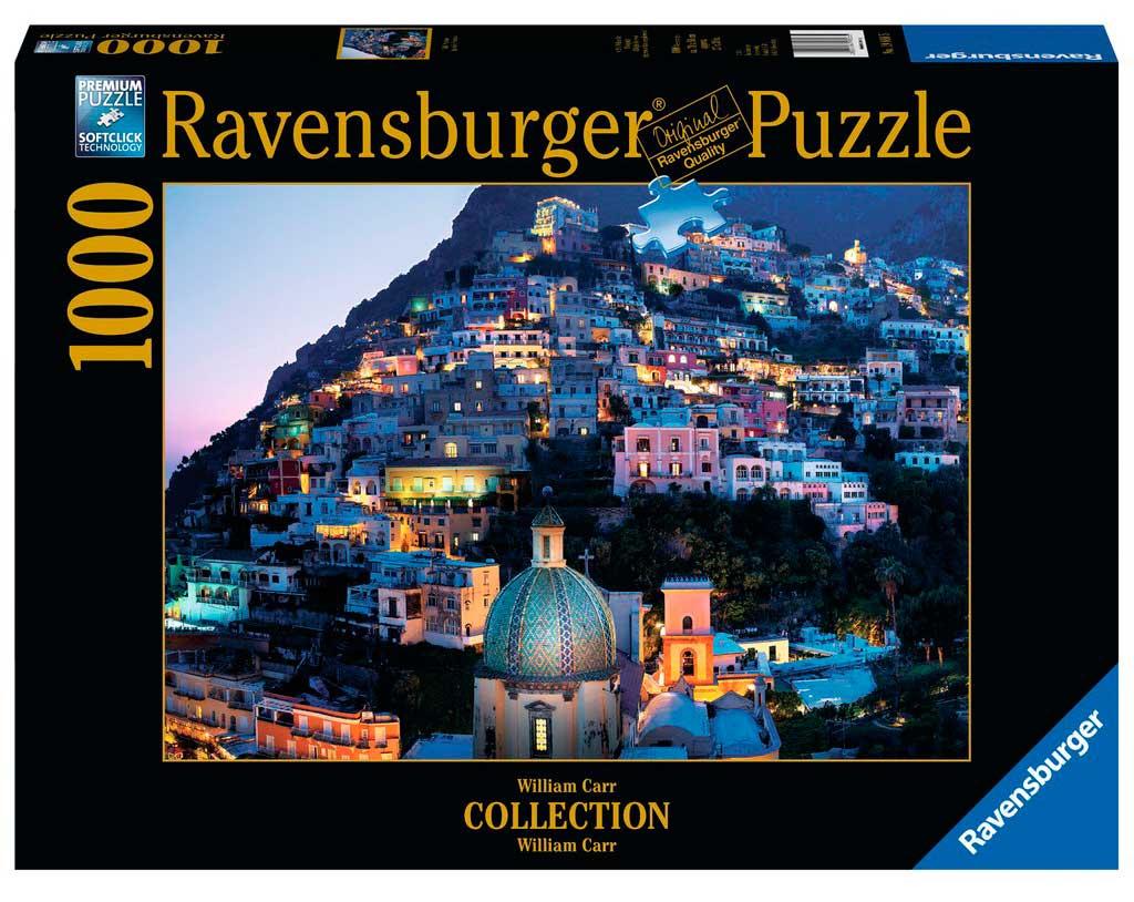 Puzzle Ravensburger Bella Noche en Positano de 1000 Piezas