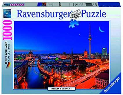 Puzzle Ravensburger Berlín de Noche de 1000 Piezas